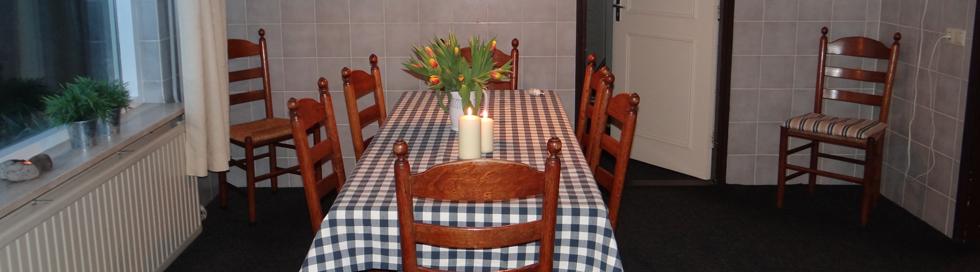 Vakantiehuis Twente Ruime keuken