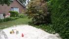 zandbak in tuin